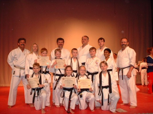 Black Belt Graduation Class March 2004