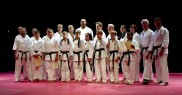 Wado Ryu Karate Black Belt Grad­u­at­ing Class July 2004