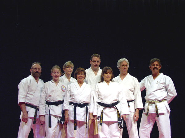 Black Belt Graduation October 2004