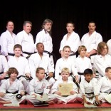 Wado Ryu Karate Black Belt Graduation Class April 2006