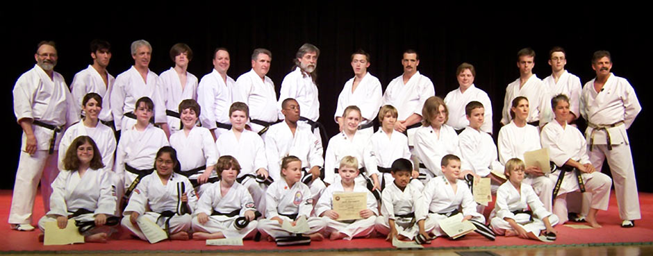 Black Belt Graduation April 2006
