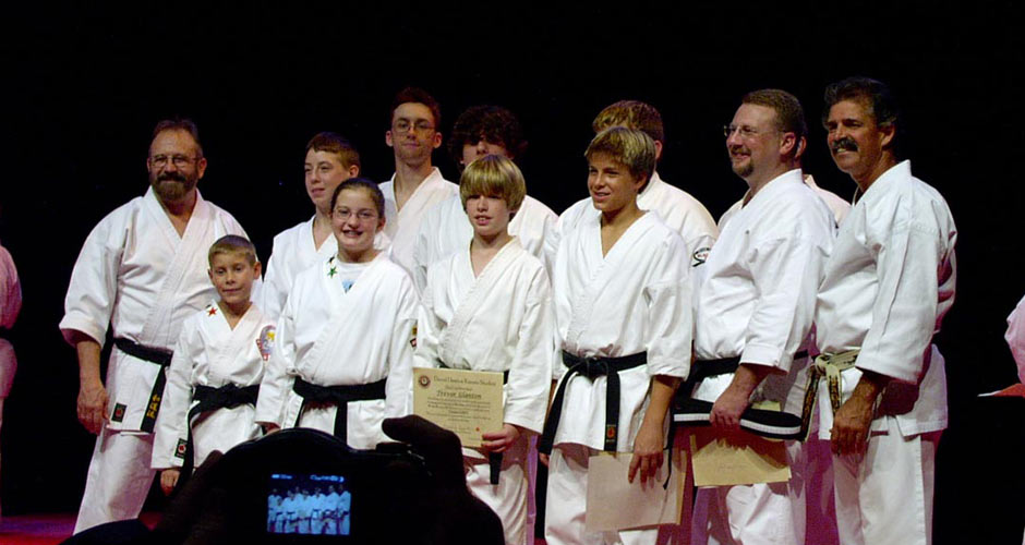 Black Belt Graduation Class October 2005
