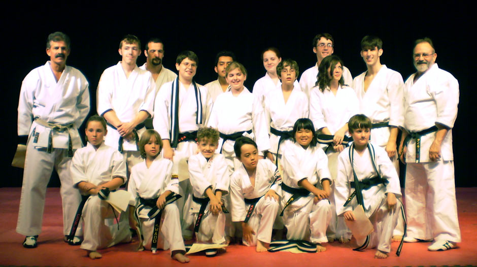 David Deaton Wado Ryu Karate Black Belt Graduation Class June 2 2007