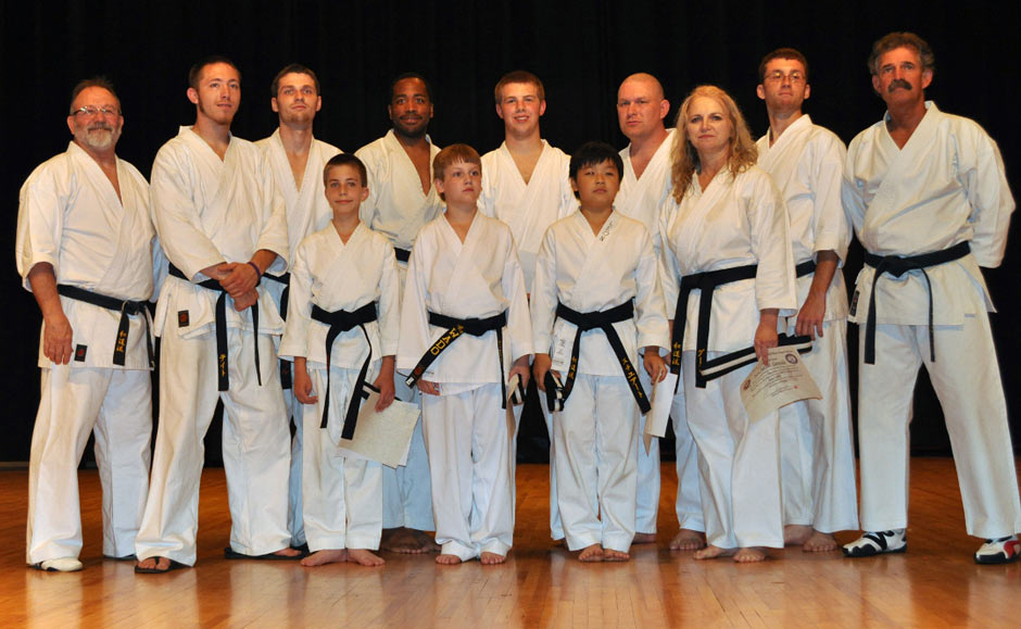 Black Belt Graduation Class June 2011