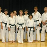 Wado Ryu Karate Black Belt Graduation Class Oct 2009