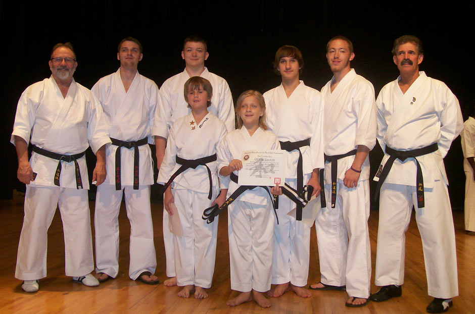 Wado Ryu Karate Black Belt Graduation Oct 2 2010