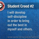 Student Creed No. 2
