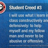 Student Creed No. 3