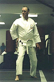 Hachi-dan Cecil T. Patterson 8th degree black belt