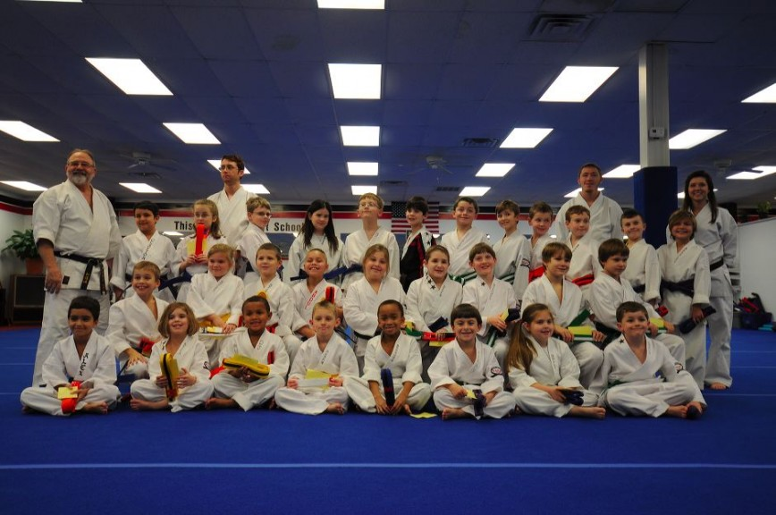 Childrens Karate Graduation Class