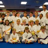 Childrens Karate Graduation Class for April 2012