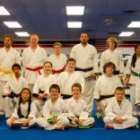 Advanced Children and Adults Karate Graduation Class for April 2012