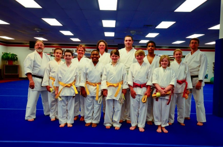 Teen and Adult Karate Graduation Class