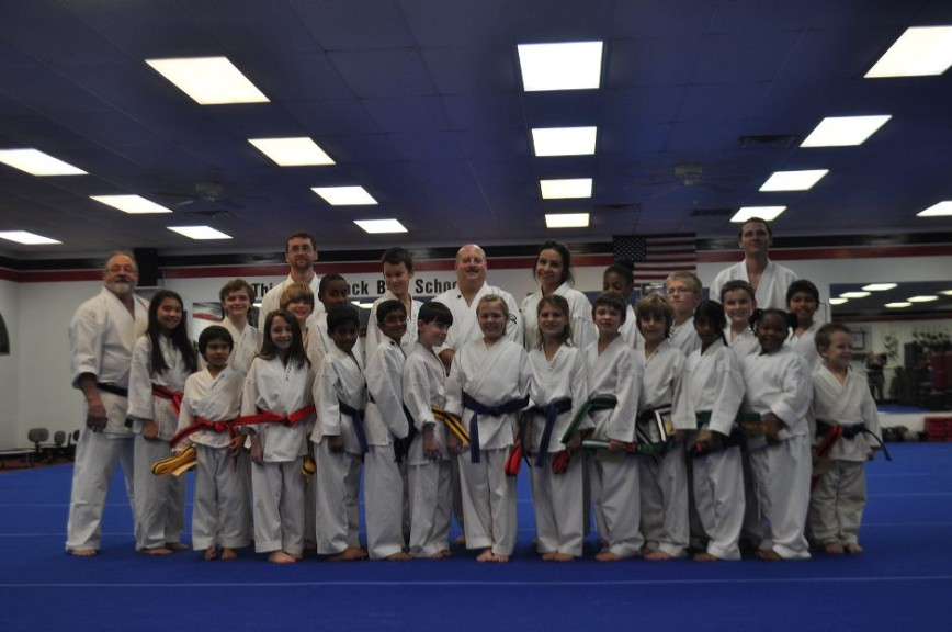 Teens and Adults Graduating Karate Students