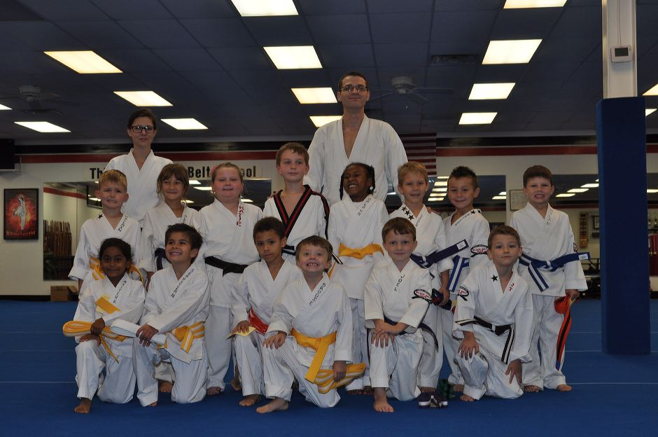 Little Dragons Karate Graduation Class