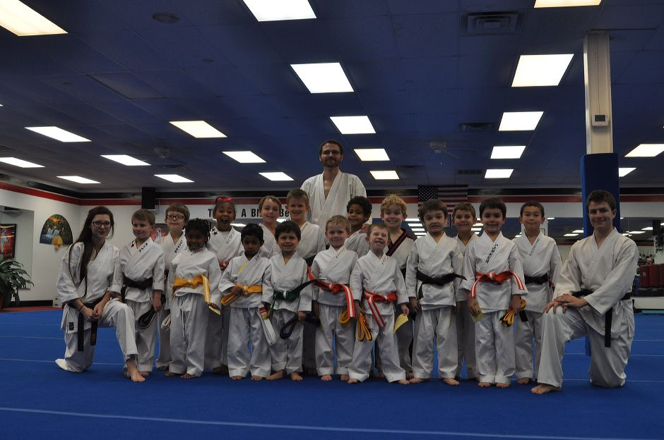 Karate Graduation January 2016