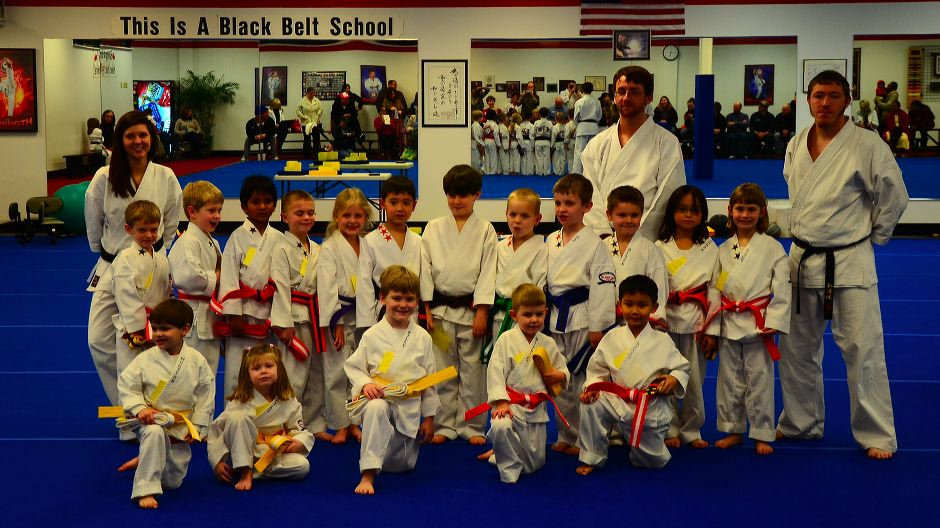 Little Dragons Karate Graduation Class February 10, 2012