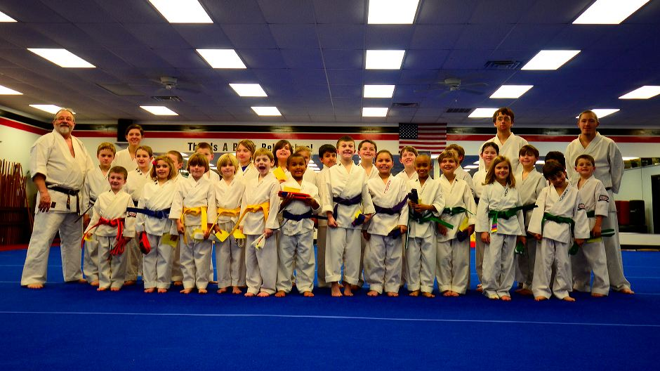 Childrens Karate Graduation Class March 9, 2012