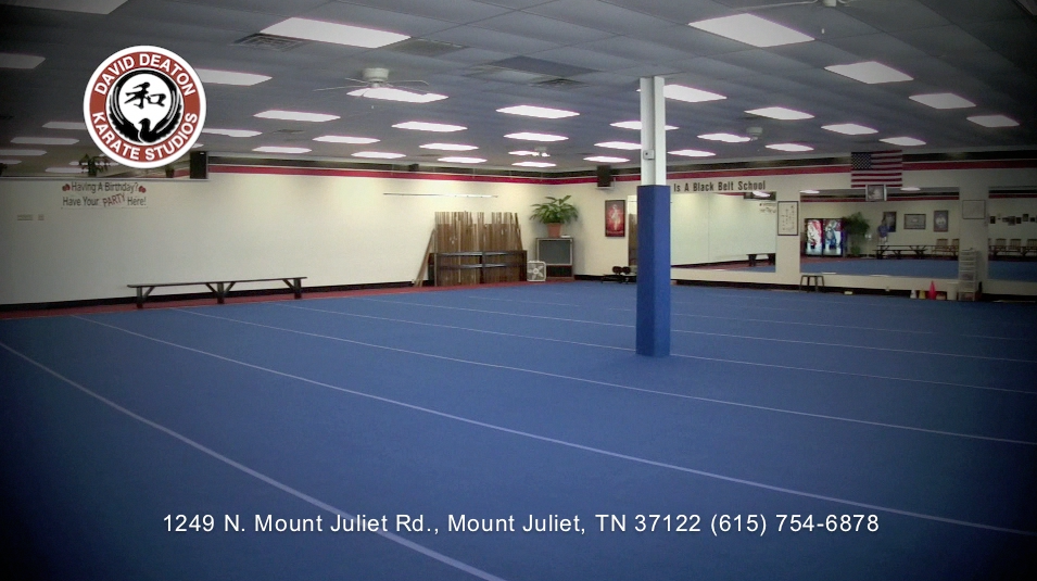 3000 sq ft karate training floor - largest in the South