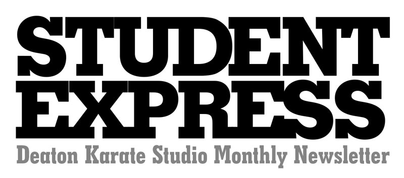 Student Express Monthly Karate Newsletter